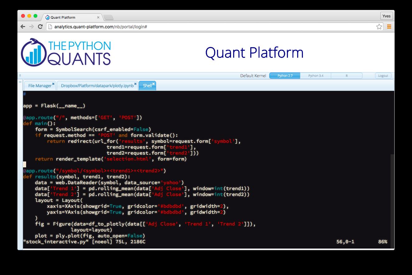 Python_Quant_Platform slides
