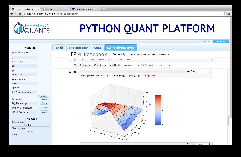 Python Quant Platform
