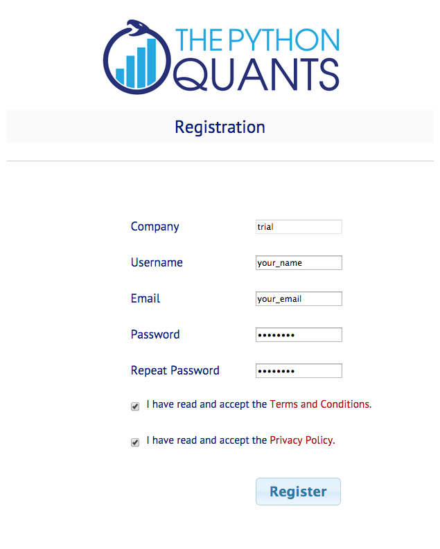 PQP Registration