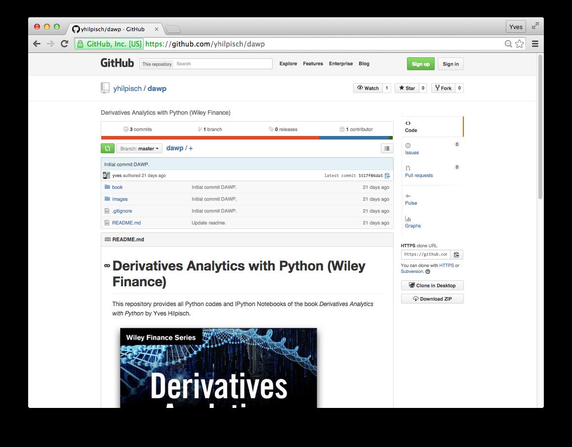 Derivatives Analytics with Python (Wiley Finance) – Data Analysis