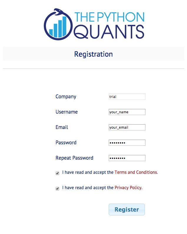 PQP Registration